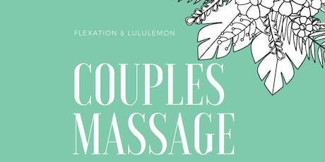 Couples Massage Course @ Lululemon Sawgrass tickets
