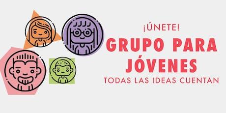 Grupo Jóvenes LGBTTTIQ+ entradas