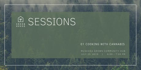 Greehouse Session 01: Cooking with Cannabis - A Discussion with David Brott tickets