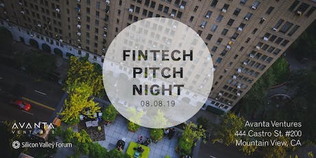 FinTech Pitch Night with Avanta Ventures tickets