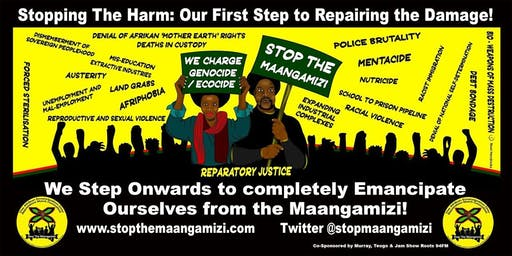Reparations March Coach Bristol-London