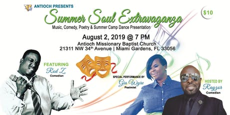 Summer Soul Extravaganza Comedy Show with Music and Poetry tickets