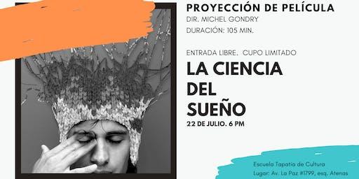 """Proyección de película """"La ciencia del sueño"""""""