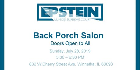 Back Porch Salon With Jeanne Bishop tickets