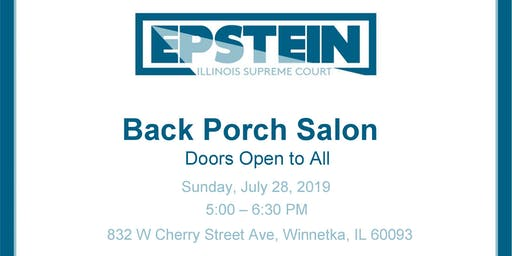 Back Porch Salon With Jeanne Bishop