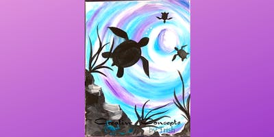 Turtle Cove Canvas Paint Night