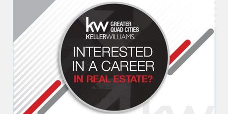 Time for A New Career? • Keller Williams Greater Quad Cities tickets