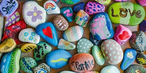 """Paint Your Own """"St. Martins Rocks"""""""
