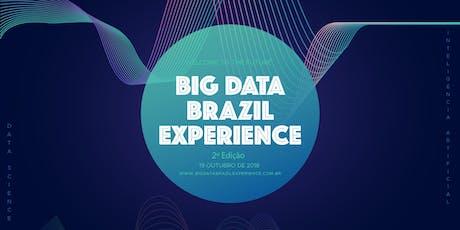 Big Data Brazil Experience 2019 ingressos