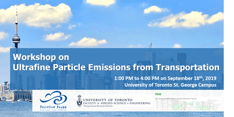 Workshop on Ultrafine Particle Emissions from Transportation tickets
