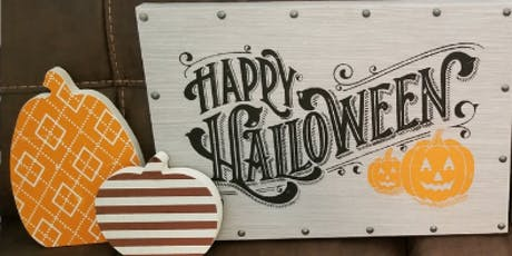 Pumpkin Cutout Craft tickets