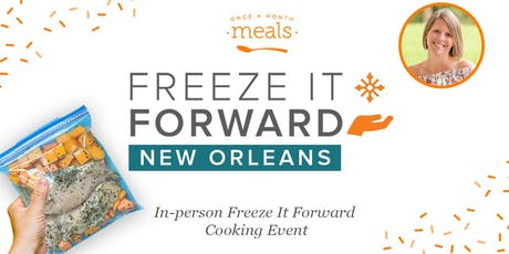 New Orleans - Freeze It Forward tickets