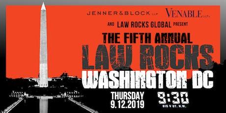 5th Annual Law Rocks Washington DC tickets