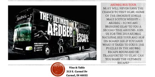 Celebrate National Scotch Day with the Ardbeg Bus and the biggest Ardbeg Sale of the Year!