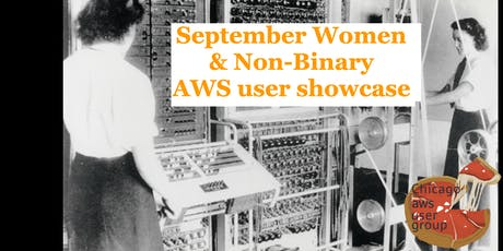 September Women and Non-Binary AWS user showcase tickets
