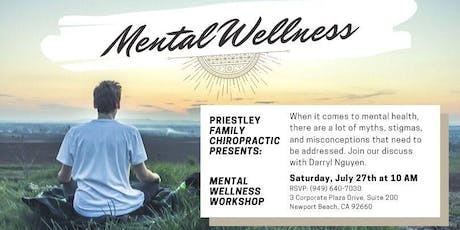 Mental Wellness tickets