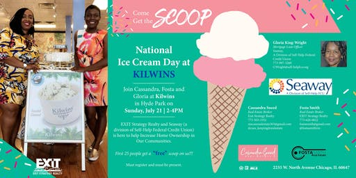 July 21st is National Ice Cream Day + Join us at KILWINS -  HYDE PARK