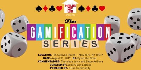 The Gamification Series Ball tickets