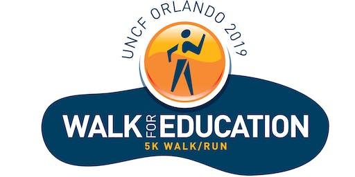 UNCF 2019 Central Florida 5K Walk for Education