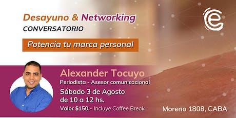 Desayuno y Networking: Potencia tu marca personal entradas