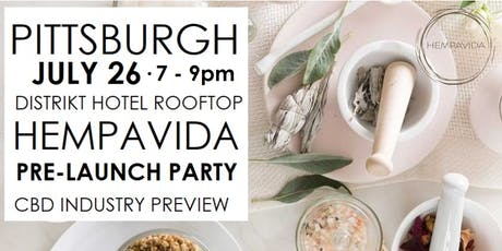 PITTSBURGH HEMPAVIDA PRODUCT LAUNCH CBD INDUSTRY PREVIEW tickets