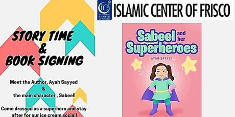 Sabeel & Her Superheroes Storytime And Ice Cream Social tickets