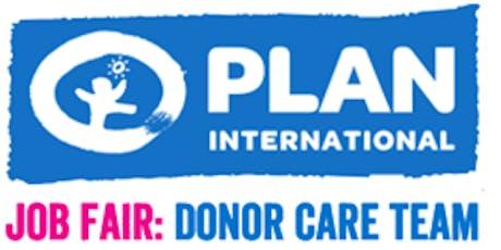 Plan International Canada - Job Fair (Donor Care) tickets