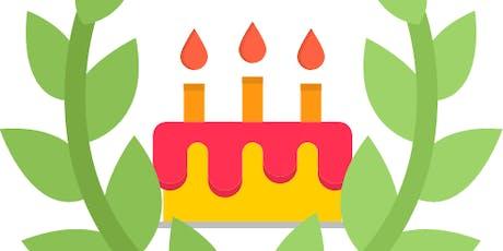 Laurea di 3, e compleanno di Cané biglietti