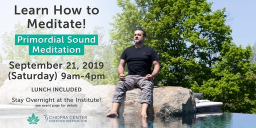 Learn to Meditate with PSM at Harmony Mountain Institute