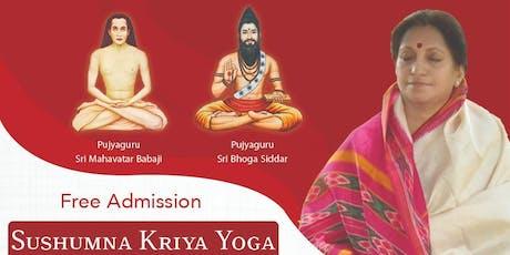 Sushumna Kriya Yoga tickets