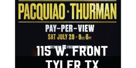 Pacquiao VS Thurman at RANDOS COMEDY STORE tickets