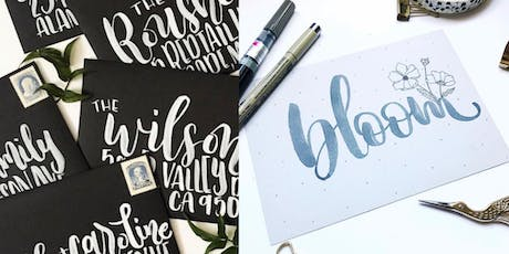 Introduction to Brush Lettering tickets