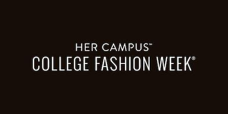 College Fashion Week Boston 2019 tickets