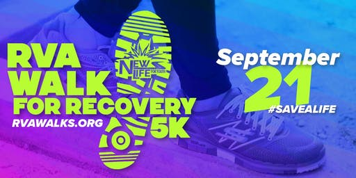 RVA WALK FOR RECOVERY 2019