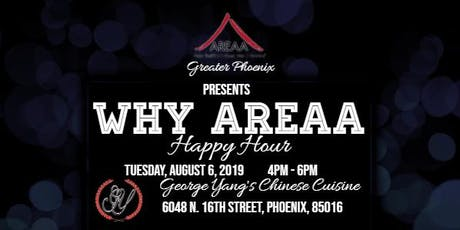 Why AREAA Happy Hour tickets