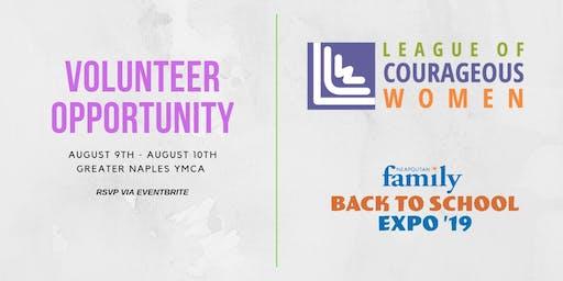League of Courageous Women - Volunteer Opportunity