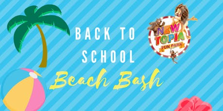 Back to School Beach Bash tickets