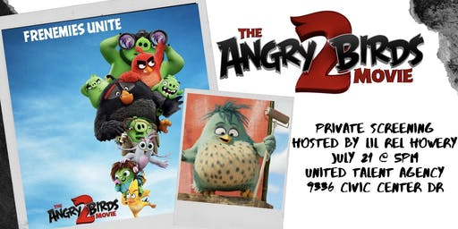 The Angry Birds Movie 2 Private Screening