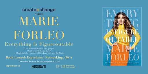 CXC Presents: Marie Forleo Everything is Figureoutable Book Party!