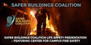SAFER BUILDINGS COALITION - LIFE SAFETY PRESENTATION,...