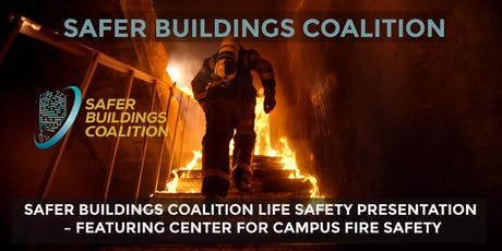SAFER BUILDINGS COALITION - LIFE SAFETY PRESENTATION, UNIVERSITY OF NEW MEXICO tickets