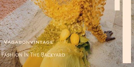 Fashion In The Backyard tickets