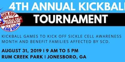 4th Annual Kick Out SCD Kickball Tournament
