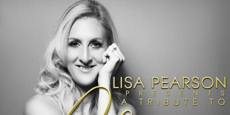 Lisa Pearson as Celine Dion tickets