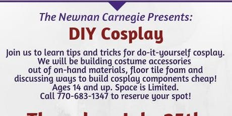 DIY Cosplay at the Carnegie tickets