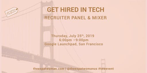 Get Hired in Tech!! Recruiter Panel