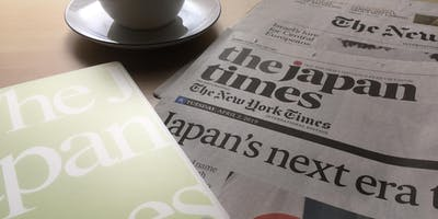 The Morning English Seminar @120 WORKPLACE KOBE ~Let's discuss a news article of The Japan Times (4)