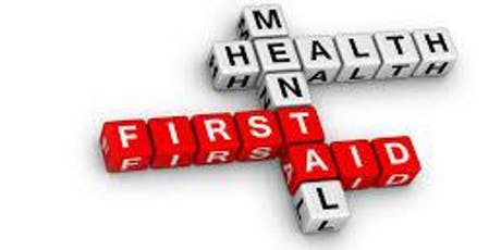 Mental Health First Aid (Youth); full 2 day course tickets