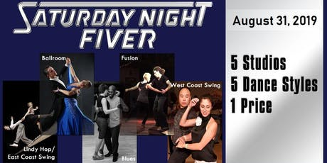 Aug 31 Saturday Night Fiver tickets