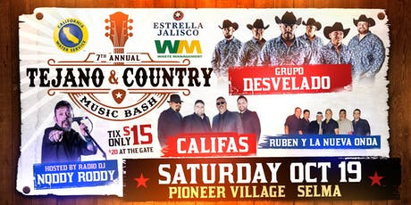 7th Annual Tejano & Country Music Bash tickets